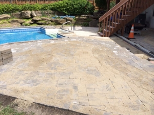 Landscape Construction Pool Kansas City Missouri