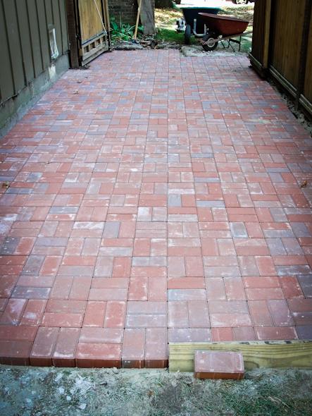 After Kansas City Missouri Brick Walkway