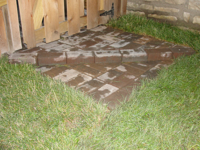 brick patio landscaping kansas city missouri