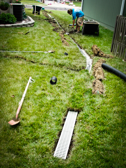 Drainage construction kansas city missouri