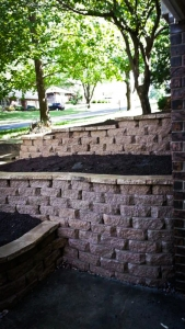 3 tier wall landscaping overland park kansas