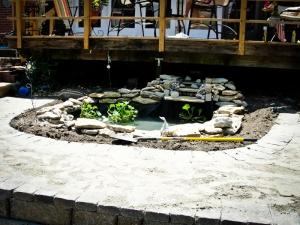 landscaping walkway patio kansas city missouri
