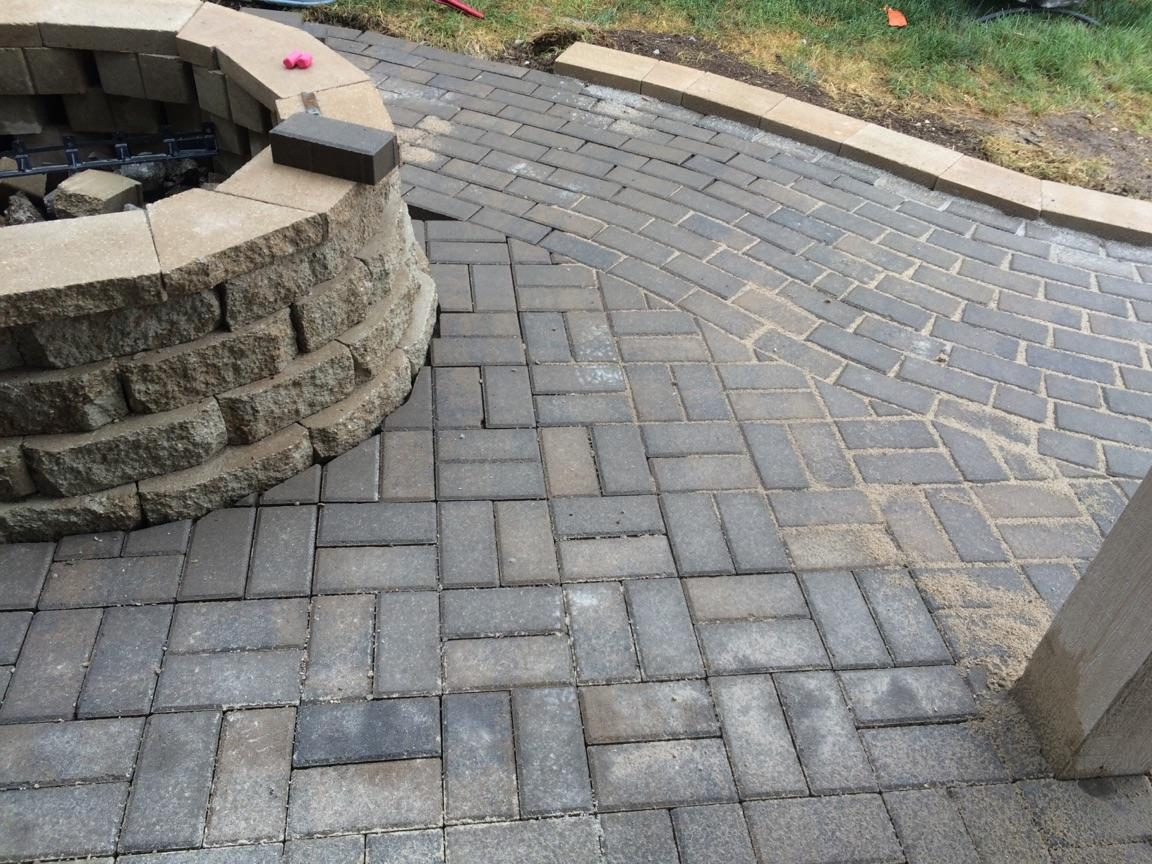 Brick Walkway in Kansas City MO | A2D Landscape and Design
