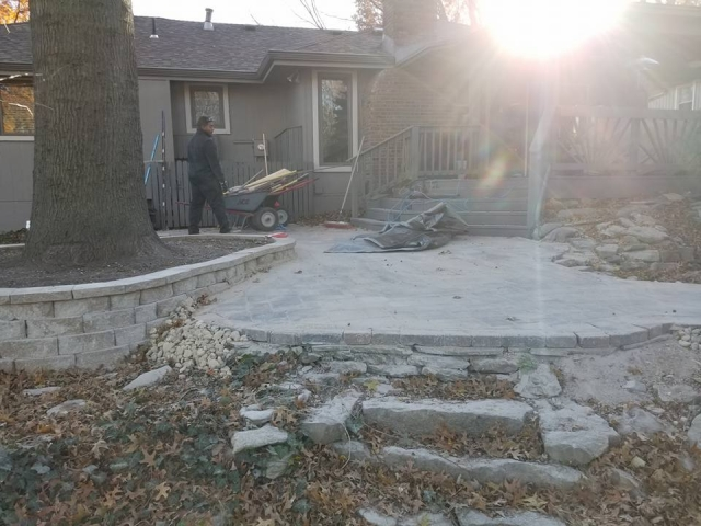 Hardscape Patio in Blue Springs, MO