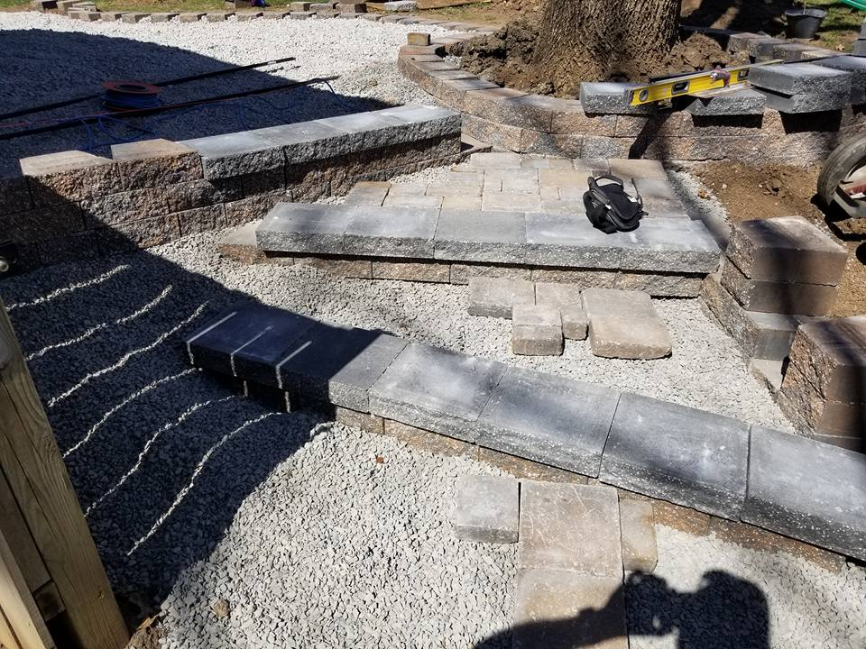 Outdoor Living Hardscape In Lake Lotawana, MO