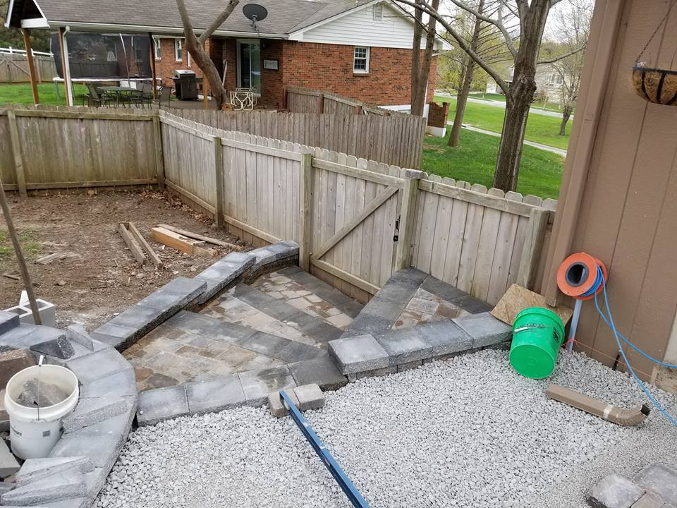Outdoor Living Hardscape In Independence, MO