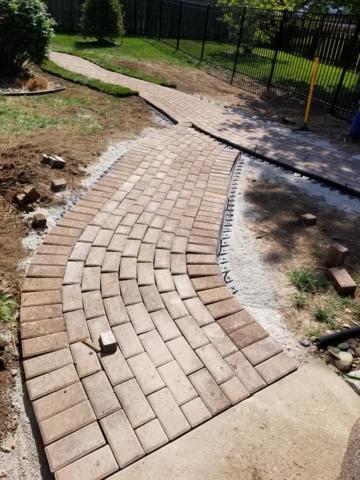 Custom Hardscape Patio in Overland Park, KS
