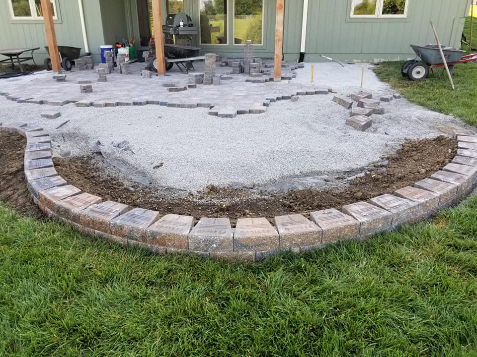 Patio Landscaping In Blue Springs, MO