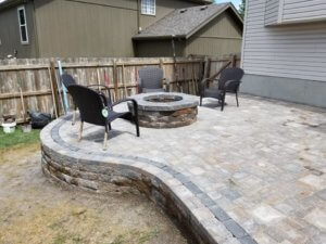 New Patio - Final Stage in Lee's Summit MO