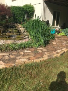 hardscape patio installation