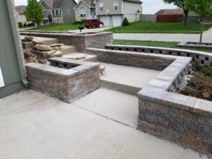 hardscape patio installation